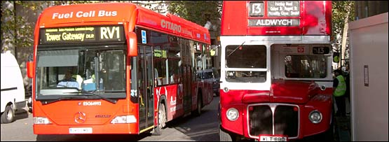 The bus of the future overtakes the Routemaster