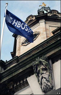 The HBOS headquarters on the Mound in Edinburgh - David Cheskin/PA Wire