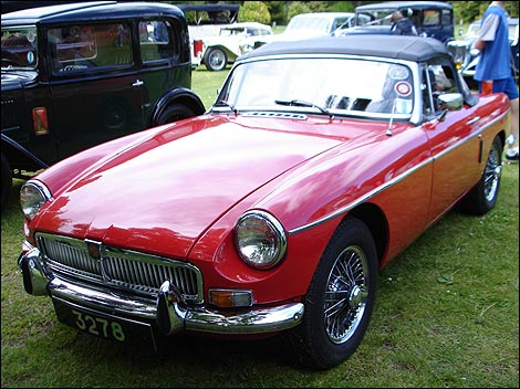 BBC Guernsey Places Classic Car Show - Mg car show