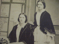 Picture of sisters Madalene and Louisa
