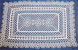 Limerick lace produced by Thelma Goldring