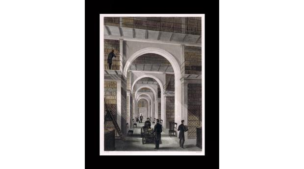 The Arched Room in the British Museum, where George Smith deciphered the Flood Tablet. © Trustees of the British museum