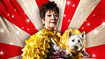 Georgie (Ruth Madoc) sends David the dog on a sponsored swim