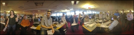 Last meeting on 7th floor for BBC News website team