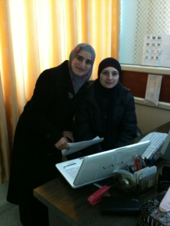 Meeting with Razan