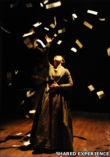 Shared Experience theatre company's production of Bronte