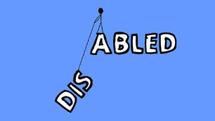 Dis ... abled: a wallpaper by Andre Jordan
