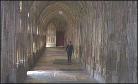 The Harry Potter trail at Gloucester Cathedral