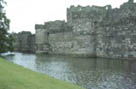 Photograph showing Beaumaris Castle