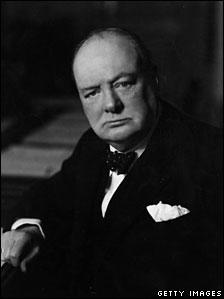 Winston Churchill during the Second War