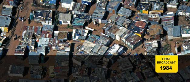 Aerial view of part of Soweto