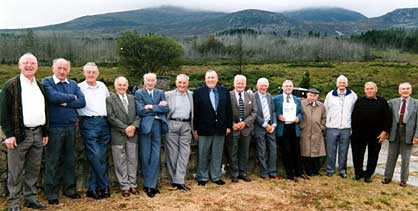 Tunnellers reunited at Dunnywater 50 years to the day after it was opened in 1952