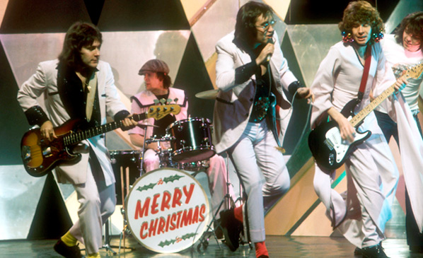 Mud on Top of the Pops, Christmas 1973