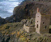 One of the many Tin mines scattered around the Cornish coast