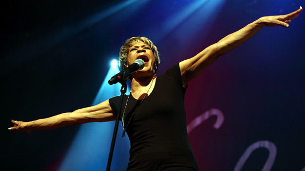 Bettye Lavette live at the Old Fruitmarket. Photo by John Lewis.
