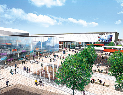 BBC - South Yorkshire - In Pictures - Doncaster Regeneration