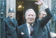 Prime Minister Edward Heath in 1971