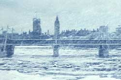 London in an ice age?