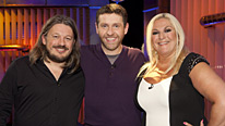 Richard Herring and Vanessa Feltz join Dave Gorman to explore more ideas of Genius... or not