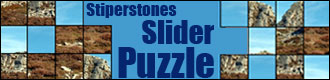 Stiperstones Slider Puzzle game
