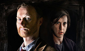 Mark Gatiss and Lee Ingleby in Crooked House (image: Tiger Aspect/Ed Miller)