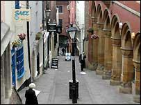 Bbc Bristol History Christmas Steps Ghosts Myths And Fish N