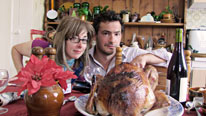 Sue Perkins and Giles Coren put the merry into Christmas