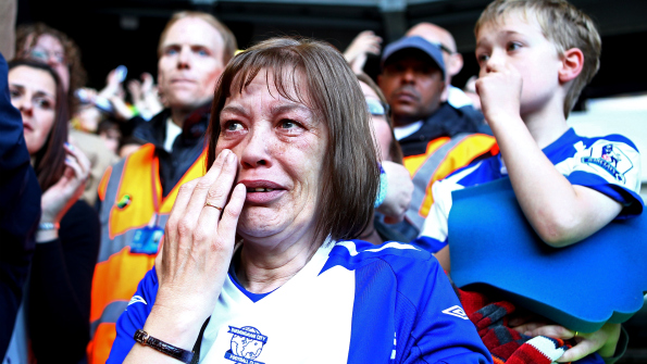 Birmingham City face an uncertain future after relegation from the Premier League.