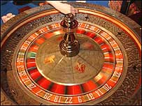 Roulette wheel c/o PA Images