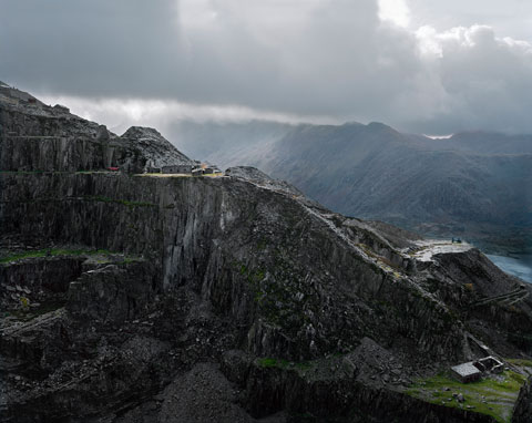 Dinorwic Slate Quarry (disused), Gwynedd. Photo © James Morris