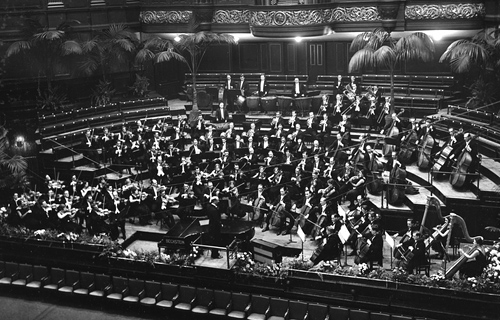 BBC Symphony Orchestra at the Queen's Hall 1930
