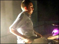 BBC - Jersey - People - Jersey drummer tours United States