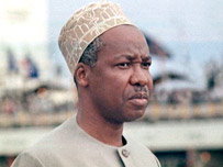 Julius Nyerere, first President of Tanzania