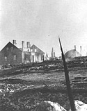 Ruins of Rozan, Poland, September 1939