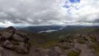 View from the top of Ben Cruachan on an overcast day.