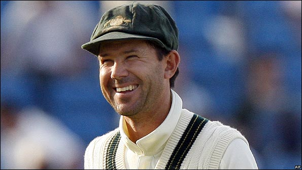 Ponting could not hide his delight in Australia's win
