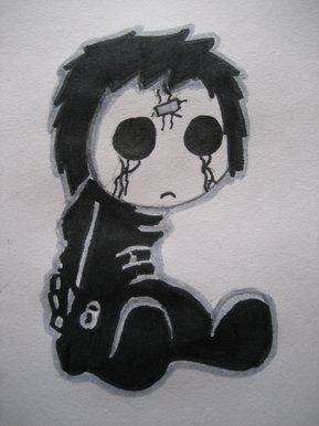 Bbc Blast Art Design Sad Little Emo