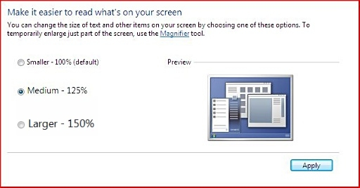 c2bf7c932 Fig 3 'Make it easier to read what's on your screen' window
