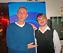 Michael Rosen and Barney Harwood