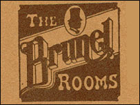 Brunel Rooms logo from the 1970s