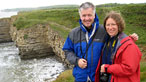 Derek and Belinda at Nash Point