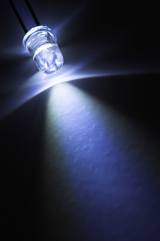 A white LED light