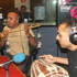 Bee 2 and Taj E rock the studio with a live performance