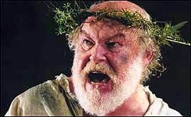 PIc: Timothy West in King Lear.