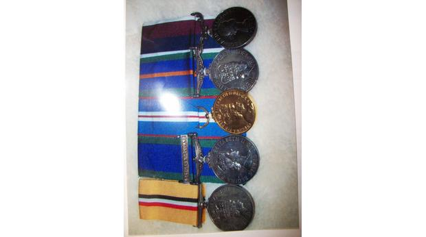 The medals of the RAF