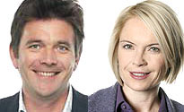 Mariella Frostrup and Dr Mark Porter