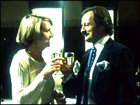 Penelope Keith with Peter Bowles