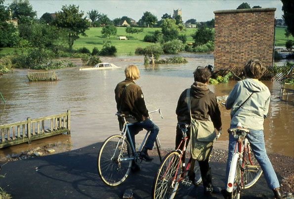Flooding in the West Country, 1968