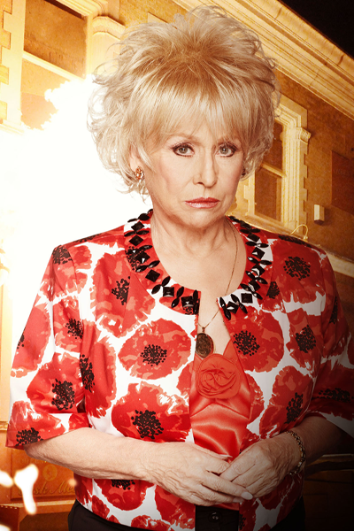 Peggy Mitchell and The Vic Fire