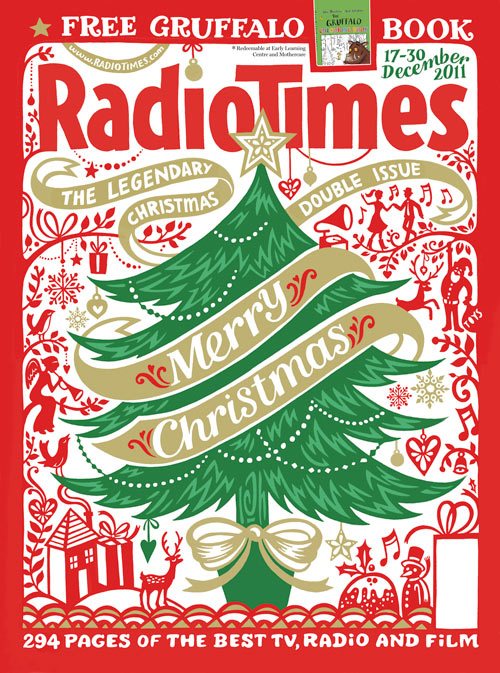 The front cover of the 2011 Christmas Radio times